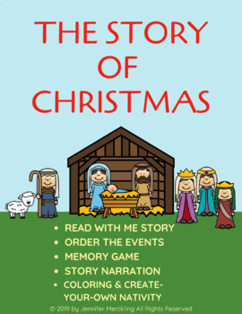 The Story of Christmas Reader & Activities