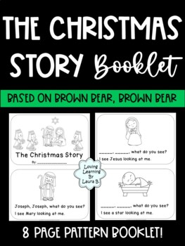 The Christmas Story Writing Booklet for Preschool and Kindergarten