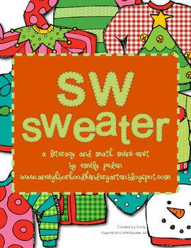 The Christmas Sweater Differentiated Literacy and Math Mini-Unit! (Common Core)