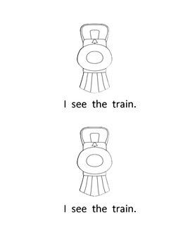 The Christmas Train Emergent Reader (Polar Express)