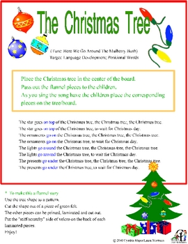 The Christmas Tree Activity