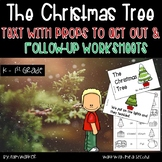 The Christmas Tree Book with Props and Worksheets