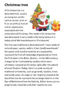 The Christmas Tree Handout