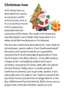 The Christmas Tree Handout
