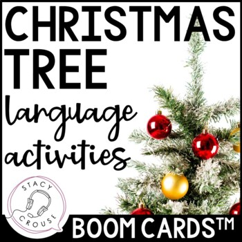 The Christmas Tree Tradition Language Activities: Boom Cards™