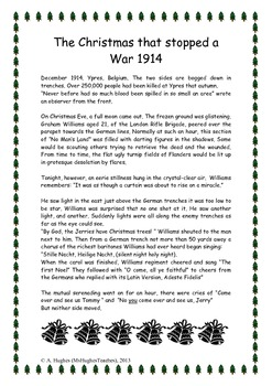 the christmas truce 1914 world war one history worksheet by ms hughes teaches. Black Bedroom Furniture Sets. Home Design Ideas