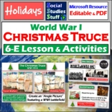 Christmas & WWI 5-E Guided Lesson & Activities - The Christmas Truce & Snoopy