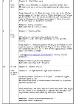 The Christmasaurus Novel Study / Unit Plan