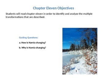 The Chronicles of Narnia: The Lion, the Witch, and the Wardrobe Ch.11  Lesson