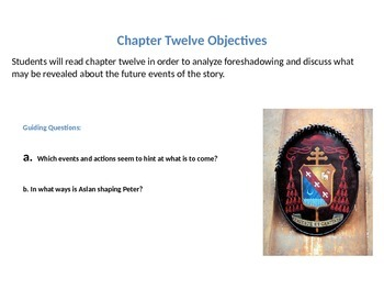 The Chronicles of Narnia: The Lion, the Witch, and the Wardrobe Ch.12  Lesson