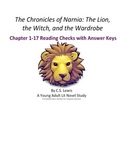 The Chronicles of Narnia: The Lion, the Witch, and the Wardrobe Reading Checks