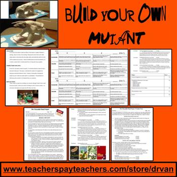 The Chrysalids - Final Assessment: Build a Mutant (Written & Oral Presentation)