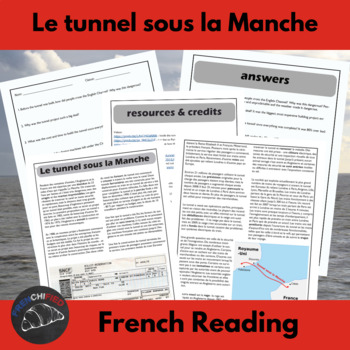 The Chunnel - Reading for int/adv French learners