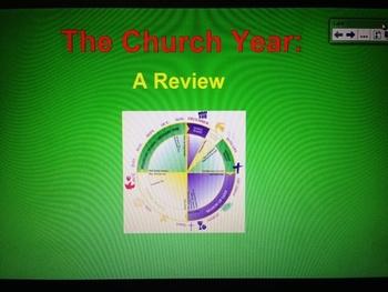 The Church Year Presentation