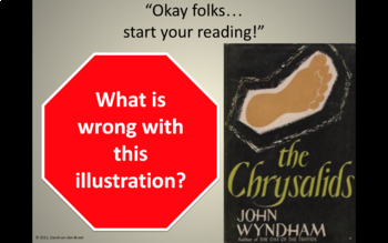 The Chysalids (by John Wyndham) - Contextualization/Introduction (Sci-Fi & WWII)