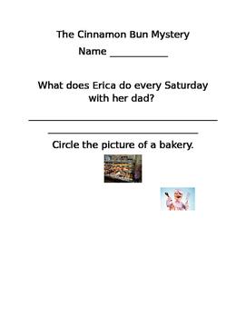 The Cinnamon Bun Mystery A to Z