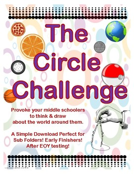 The Circle Challenge: Perfect for Early Finishers & Sub Lessons