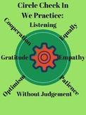 The Circle Check In to Establish a Community in the Classroom