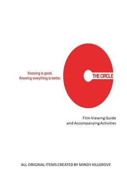 The Circle Movie Viewing Guide (Editable)