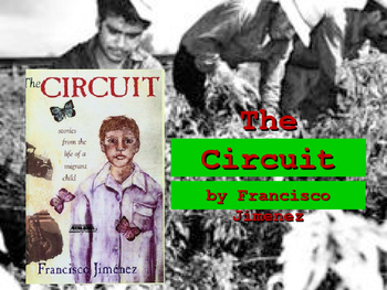 """The Circuit, by Francisco Jimenez """"Interactive Powerpoint"""""""