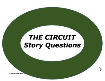 The Circuit by Francisco Jimenez ( Reading Comprehension Q
