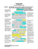The Circuit, by Francisco Jimenez - Worksheets + Answer Keys