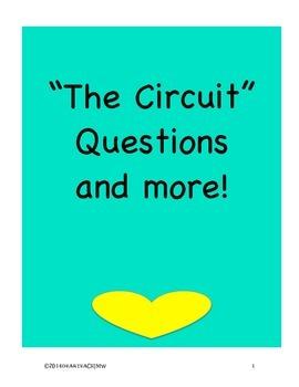 Text Dependent Questions The Circuit  by Francisco Jiménez Comprehension