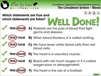 The Circulatory System - Blood - PC Gr. 3-8