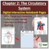 The Circulatory System - Digital Interactive Notebook Pages