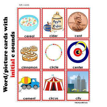 PHONICS SORT: The Circus Clowns Literacy Center