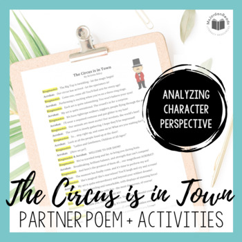 """""""The Circus is in Town"""" {A Partner Perspective Poem}"""