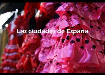 Spanish - The Cities of Spain - ORIGINAL Photos - Fantastic Presentation