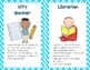 """""""The City"""" Classroom Jobs Pack - Lime Green, Turquoise, an"""