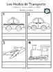 The City & Modes of Transportation in Spanish! (6 fun worksheets!)