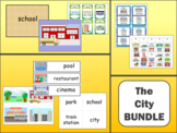 The City Vocabulary BUNDLE - The City Vocabulary in English