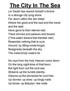 The City in The Sea- Edgar Allan Poe (adapted)