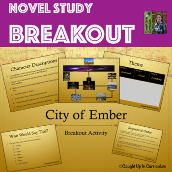 The City of Ember Breakout