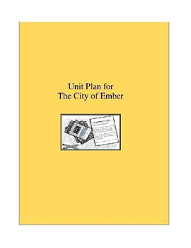 The City of Ember Complete Literature and Grammar Unit