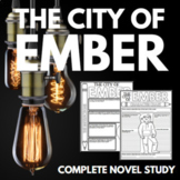 The City of Ember Novel Study Unit with Questions and Activities