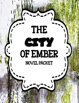 The City of Ember - Comprehension and Vocabulary Unit