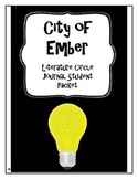 The City of Ember Literature Circle Journal Student Packet