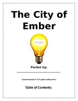 The City of Ember (Novel Reading Guide)