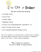 The City of Ember Novel Study Book Unit Printable Version