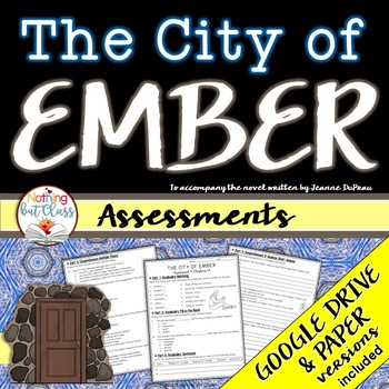The City of Ember: Tests, Quizzes Assessments