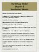 The City of Ember Vocabulary Worksheets: Chapter 2