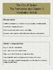 The City of Ember Vocabulary Worksheets:  The Instructions and Chapter 1