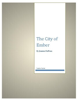 The City of Ember by Jeanne DuPrau