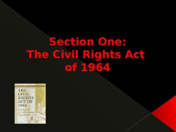 The Civil Rights Acts of 1964 & 1965