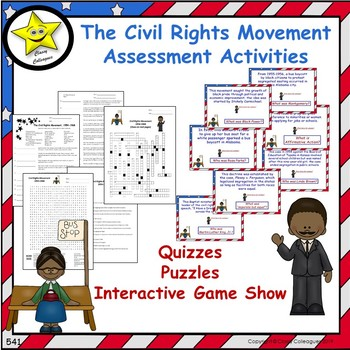 The Civil Rights Movement Assessment Activities