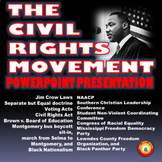 THE CIVIL RIGHTS MOVEMENT Compelling PowerPoint Presentation